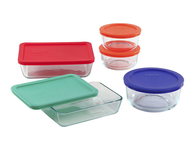 pyrex food storage