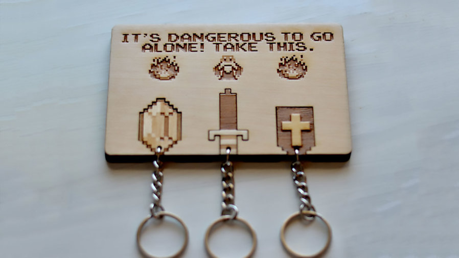 zelda key holder