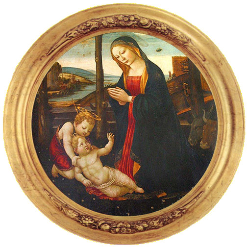 Alien encounters in The Madonna with Saint Giovannino