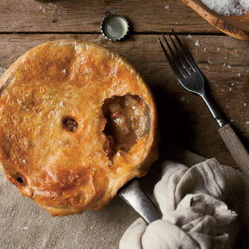 Pork, Potato and Apple Pie
