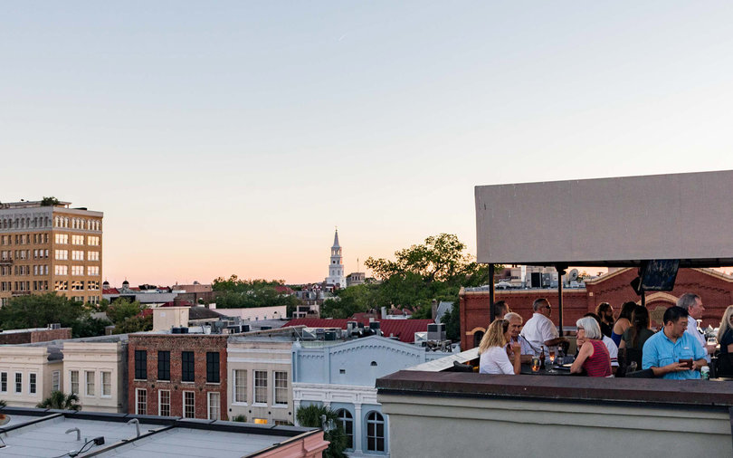 The Rooftop at The Vendue Hotel, Charleston, South Carolina