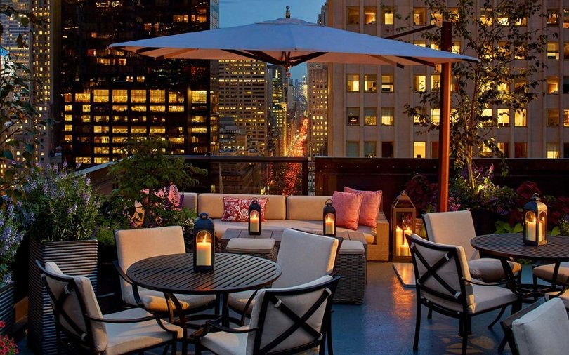 The Peninsula New York Salong De Ning Rooftop
