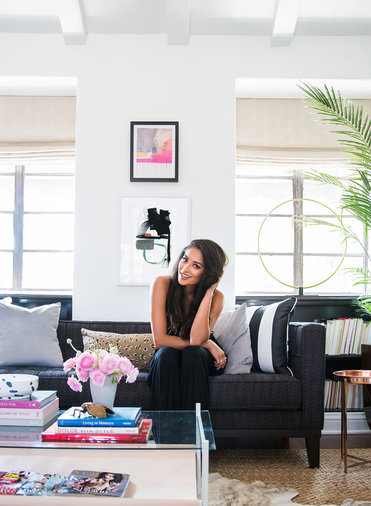 Shay Mitchell's Playful Guest House
