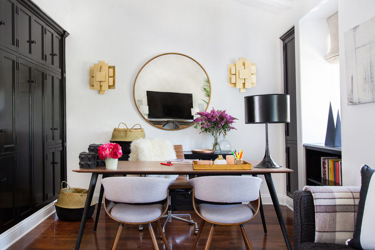 Shay Mitchell's Double-Duty Abode