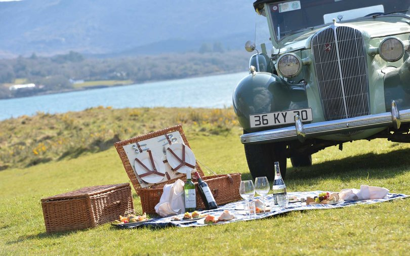 Picnic with Sheen Falls Lodge in Ireland