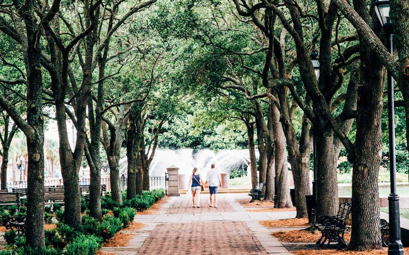 Waterfront Park, Charleston, South Carolina