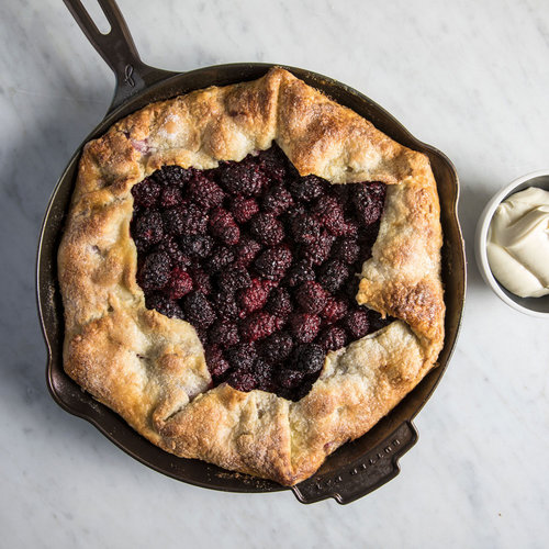 Cast-Iron Blackberry Galette with Whipped Mascarpone