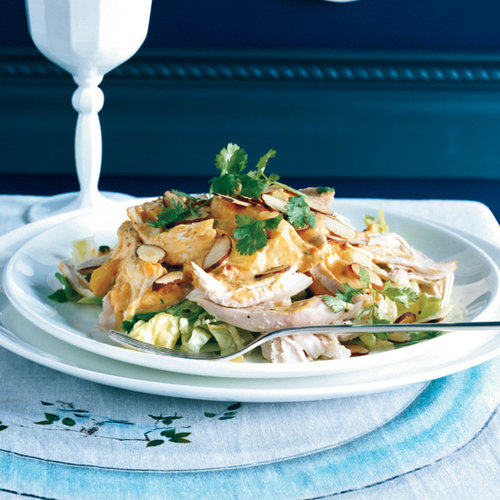 Coronation Chicken Salad with Mangoes and Almonds