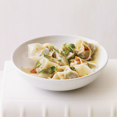 Spinach-and-Pork Wontons