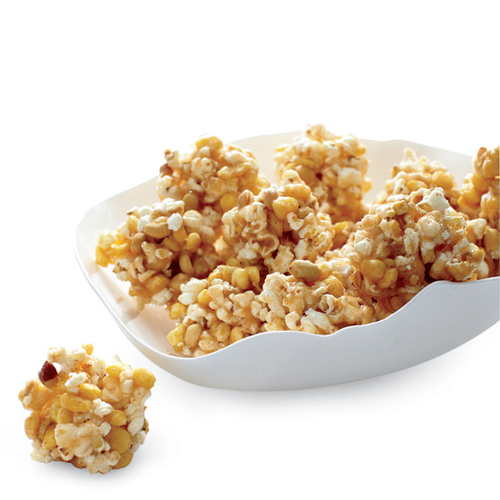 Spicy Cheese-Caramel Popcorn Recipe — Dishmaps