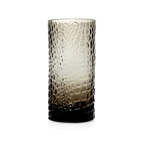Smoky Glassware: Textured