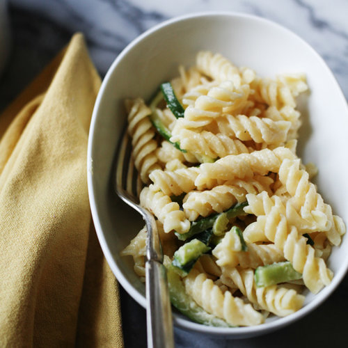 Fusilli with Zucchini and Fonduta