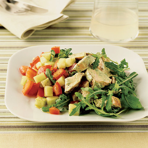 Chicken Salad with Green Goddess Dressing