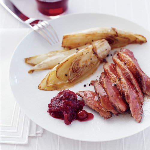 Duck with Cranberry Mostaza