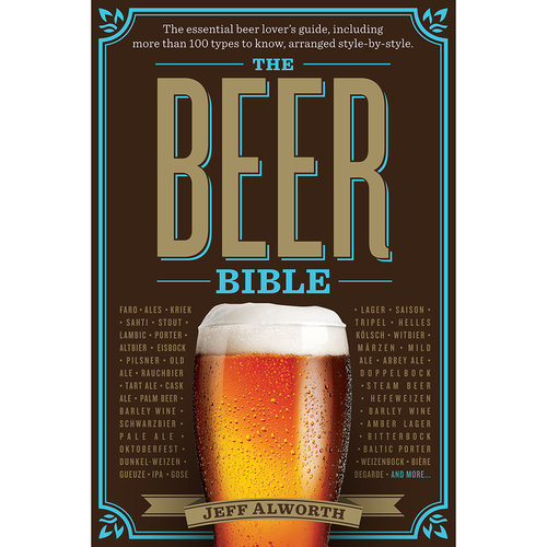 The Beer Bible for beer history and beer brewing.