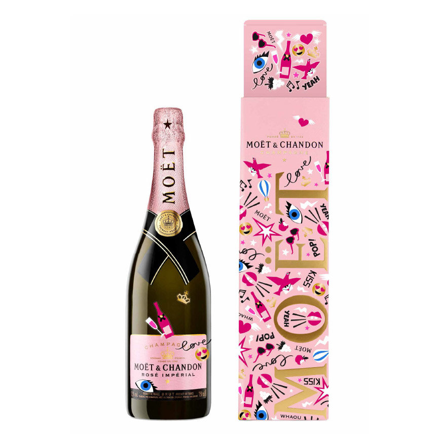 Emoji Moët & Chandon Imperial Rose