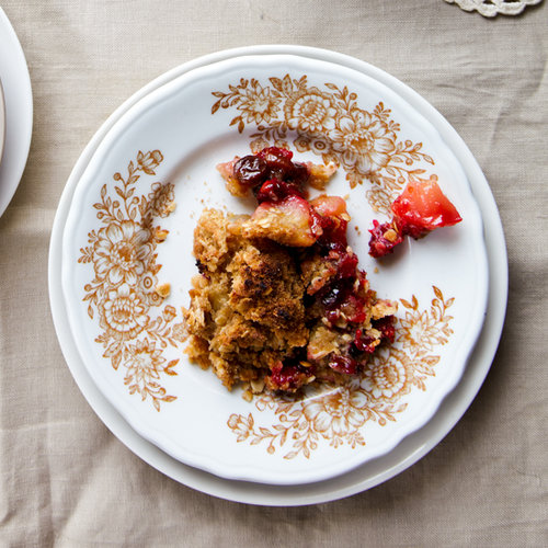 Cranberry Apple Raisin Crisp