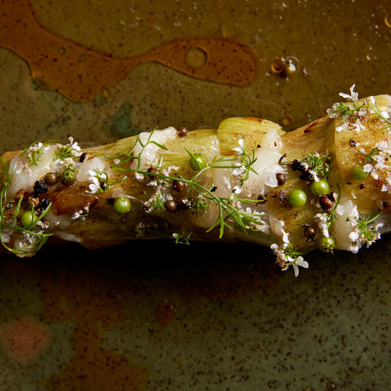 Broccoli Stems with Lardo