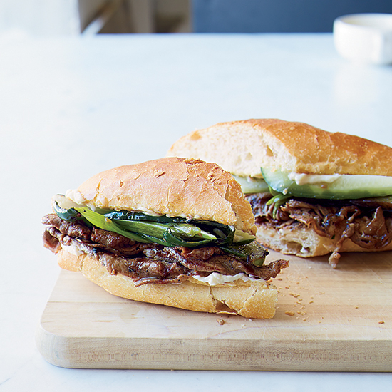 chicken pepper steak sandwich recipe