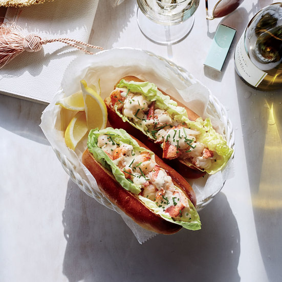 Butter-Poached Lobster Rolls with Spicy Sauce Recipe ...