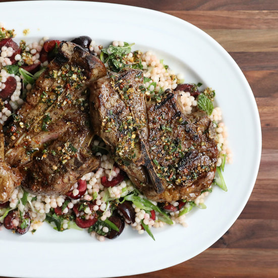 Lamb Blade Chops 