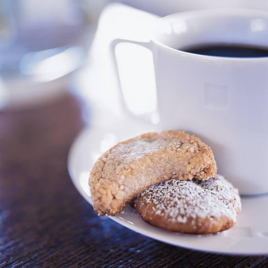 Almond-Grappa Cookies