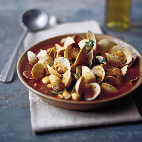 Pork and Clam Cataplana