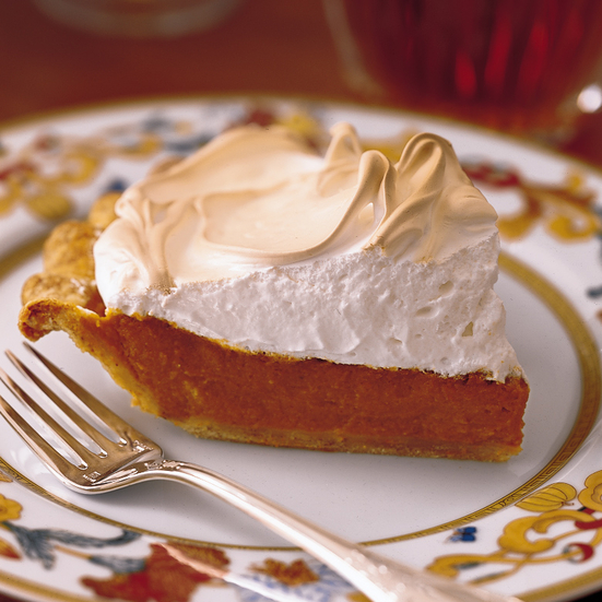 Pumpkin Meringue Pie Recipe - Eric Bromberg, Bruce Bromberg | Food ...