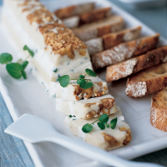 Gorgonzola and Walnut Terrine