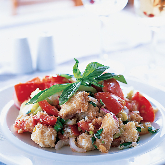 Garden Vegetable Panzanella