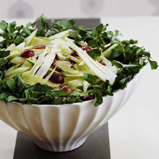 Fennel, Apple and Celery Salad with Watercress