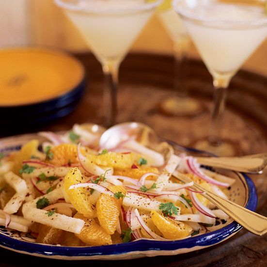 Spicy Orange and Jicama Salad