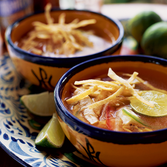 Yucatán Lime and Chicken Soup
