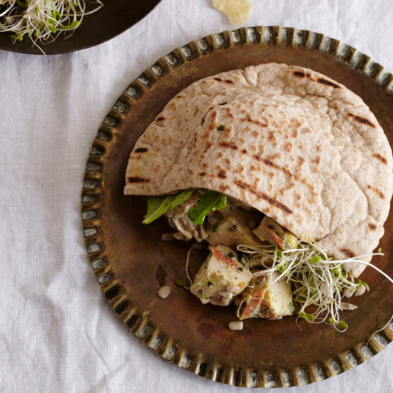 Indian-Spiced Chicken Salad Sandwiches