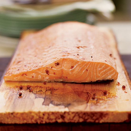 BBQ Planked Salmon
