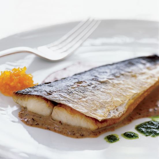 Spanish Mackerel with Three Sauces