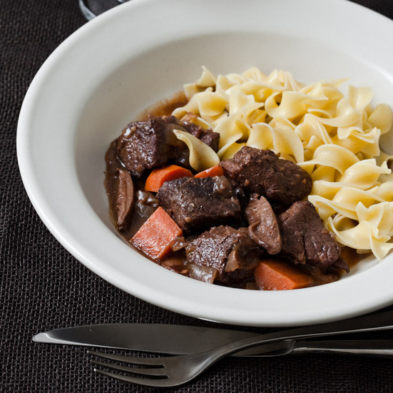 Beef Stew with Port and Porcini