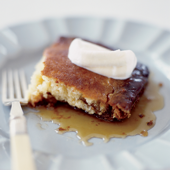 Maple-Buttermilk Pudding Cake