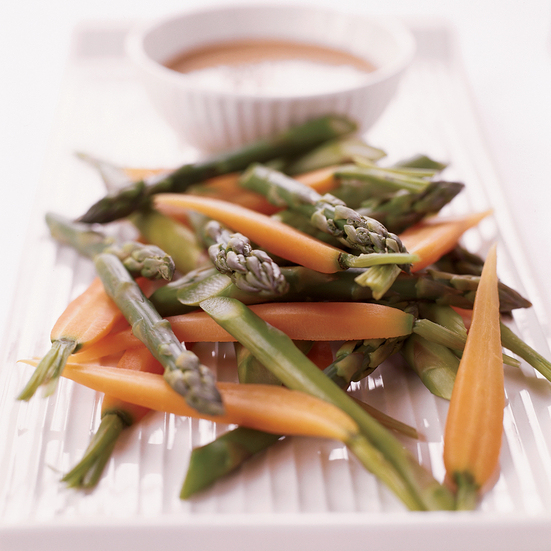 Asparagus with Sesame Dressing