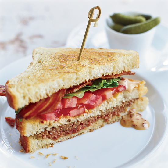 Meat Loaf Club Sandwich