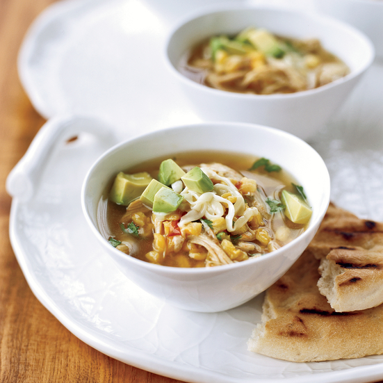 Spicy Turkey Posole