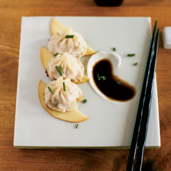 Pork Dumplings with Aged Black Vinegar