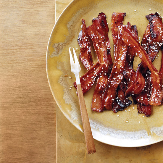 Spicy Honey-Glazed Bacon