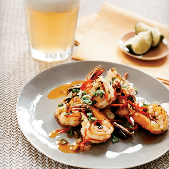 Sichuan Peppercorn Shrimp Recipe - Sang Yoon | Food & Wine