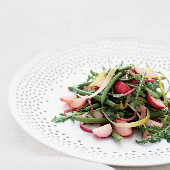Warm Summer Vegetable Salad with Brown Butter Dressing