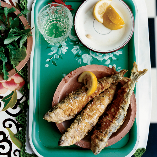 Stuffed Fried Sardines