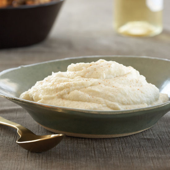 Hot, Buttered Cauliflower Puree
