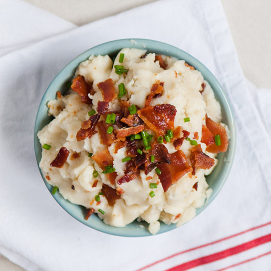 Creamy Potatoes with Bacon