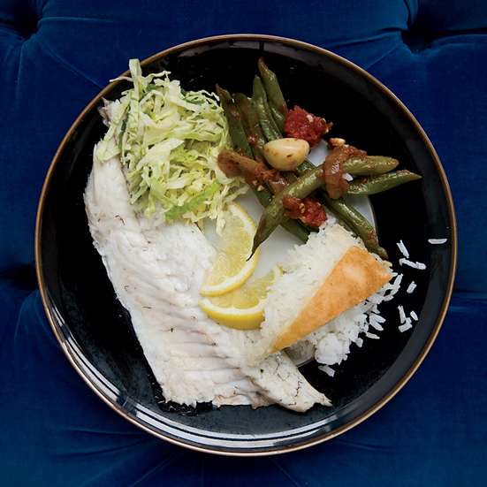 Salt-Baked Branzino with Citrus, Fennel and Herbs