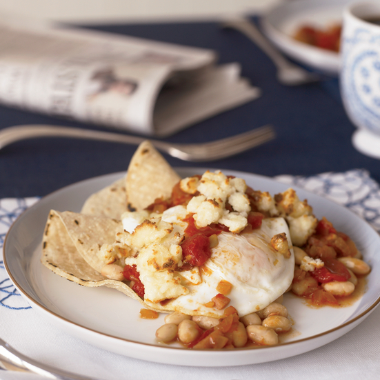 White Bean Huevos Rancheros